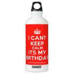 [Crown] i cant keep calm its my birthday  SIGG Water Bottles SIGG Traveler 0.6L Water Bottle