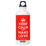 [Crown] keep calm and make lovr  SIGG Water Bottles SIGG Traveler 0.6L Water Bottle