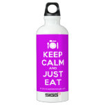 [Cutlery and plate] keep calm and just eat  SIGG Water Bottles SIGG Traveler 0.6L Water Bottle