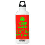 [Cutlery and plate] keep calm and don't eat my face  SIGG Water Bottles SIGG Traveler 0.6L Water Bottle