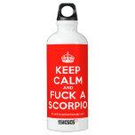 [Crown] keep calm and fuck a scorpio  SIGG Water Bottles SIGG Traveler 0.6L Water Bottle