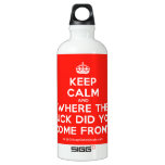 [Crown] keep calm and where the fuck did you come from?!  SIGG Water Bottles SIGG Traveler 0.6L Water Bottle