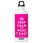 [Crown] keep calm and make it easy  SIGG Water Bottles SIGG Traveler 0.6L Water Bottle