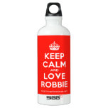 [Crown] keep calm and love robbie  SIGG Water Bottles SIGG Traveler 0.6L Water Bottle