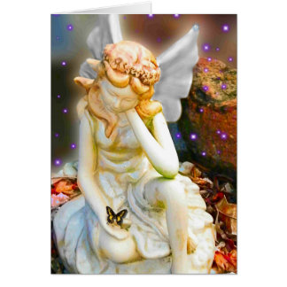 Sighing Fairy Greeting Card