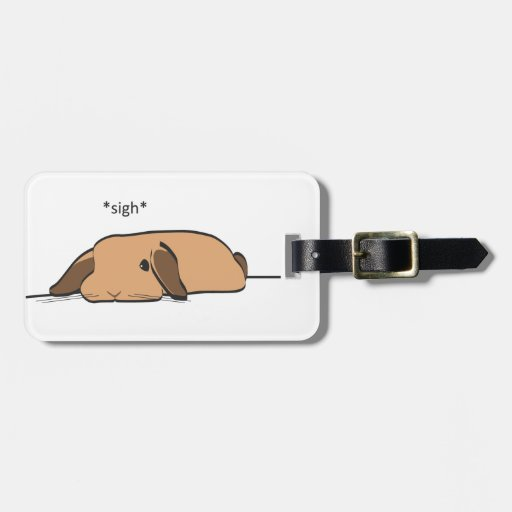 SIGHING LOP BAG TAGS