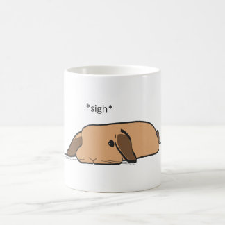 SIGHING LOP COFFEE MUG