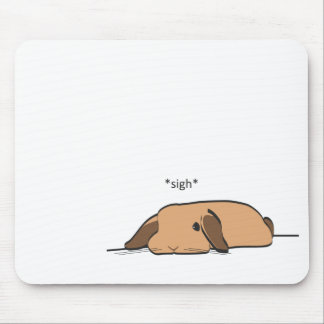 SIGHING LOP MOUSE PAD