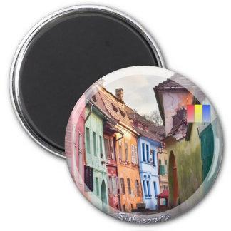 Sighisoara 2 Inch Round Magnet