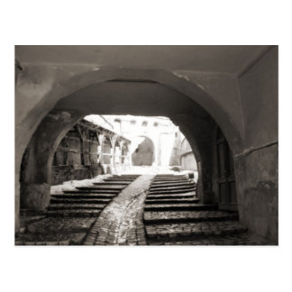 Sighisoara, a través de las paredes de la postal