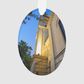 Sighisoara church at night