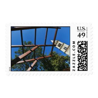 Sighisoara church tower postage stamps