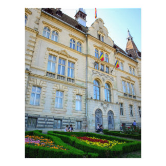 Sighisoara city hall full color flyer