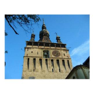 Sighisoara,Clocktower Postcard