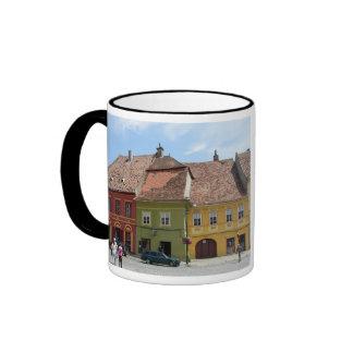 Sighisoara, Dracula's Birthplace Ringer Coffee Mug