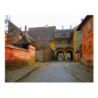 Sighisoara, entrada a la ciudad tarjeta postal