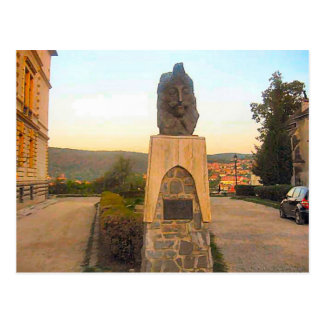 Sighisoara, Head of Vlad Dracul Postcard