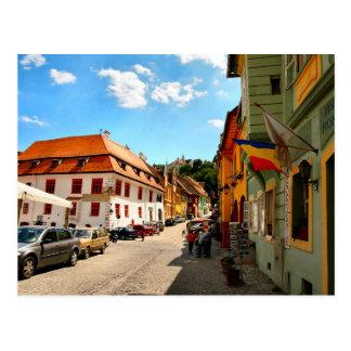 Sighisoara, Inside the city Postcard