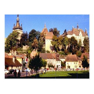 Sighisoara, Medieval towers Postcard