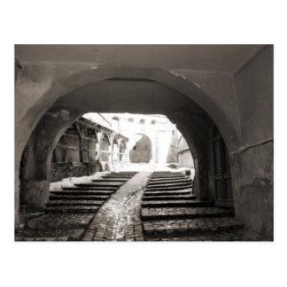 Sighisoara,Through the citadel walls Postcard