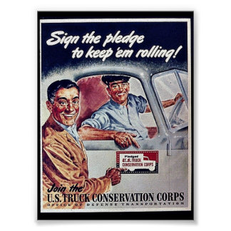 Sighn The Pledge To Keep 'Em Rolling!S Poster