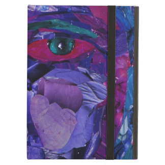 Sight, Abstract Magenta Violet Inner Vision Case For iPad Air