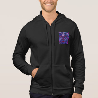 Sight, Abstract Magenta Violet Inner Vision Hoodie