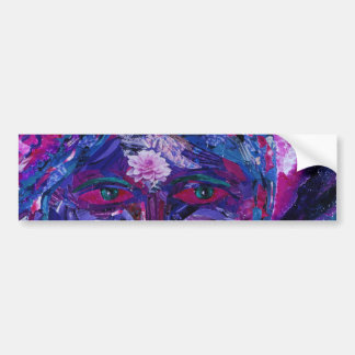 Sight – Magenta & Violet Inner Vision Bumper Sticker