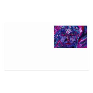 Sight – Magenta & Violet Inner Vision Business Cards