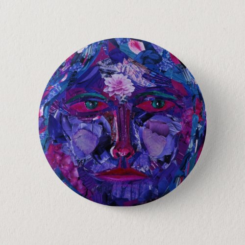 Sight – Magenta & Violet Inner Vision Button