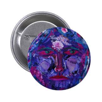 Sight – Magenta & Violet Inner Vision 2 Inch Round Button