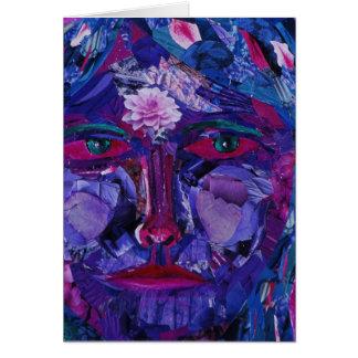 Sight – Magenta & Violet Inner Vision Greeting Cards