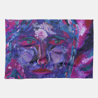 Sight – Magenta & Violet Inner Vision Kitchen Towel