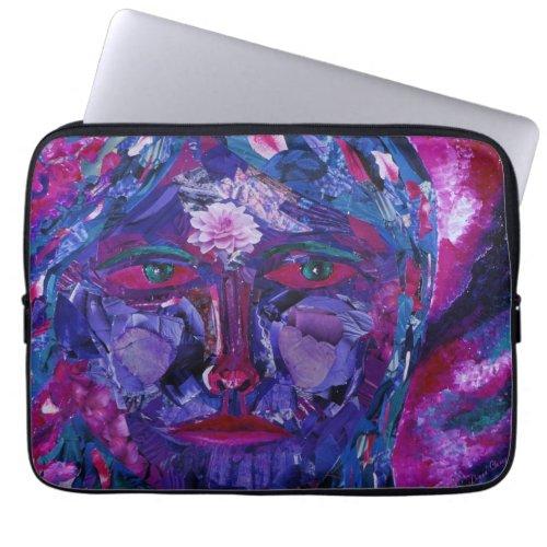Sight – Magenta & Violet Inner Vision Laptop Sleeve