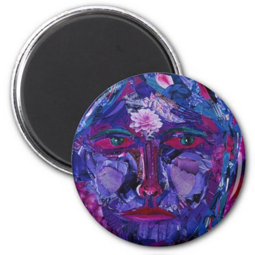 Sight – Magenta & Violet Inner Vision Magnet