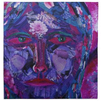 Sight – Magenta & Violet Inner Vision Printed Napkins