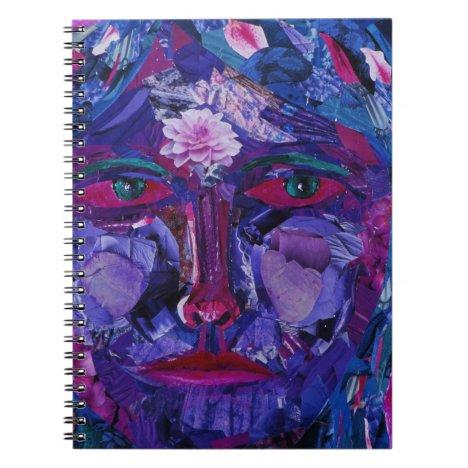 Sight – Magenta & Violet Inner Vision Notebook