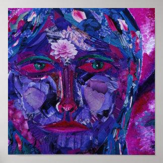 Sight – Magenta & Violet Inner Vision Poster
