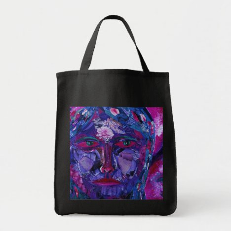 Sight – Magenta & Violet Inner Vision Tote Bag