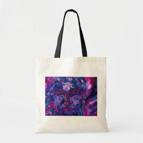 Sight – Magenta & Violet Inner Vision Tote Bag