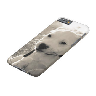 Sight of a puppy dog in summer barely there iPhone 6 case