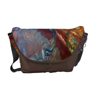 Sight of the airs: Desert and small valleys Messenger Bag