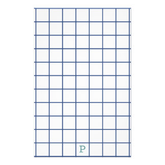 Sight Problems? Use large squared Stationery