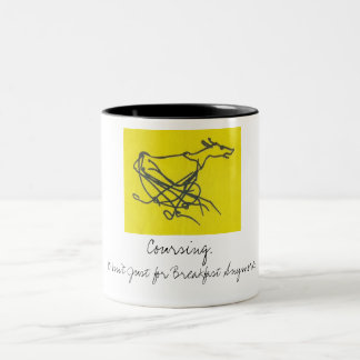 Sighthound Coursing Mug