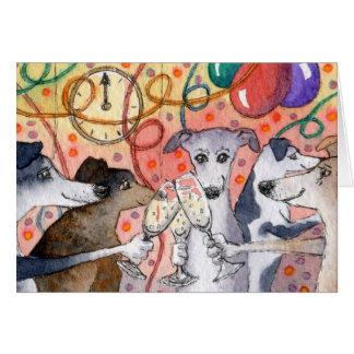 Sighthounds es los juerguistas originales… tarjeta