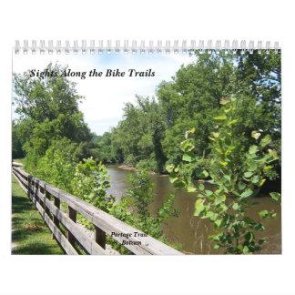 Sights Along the Bike Trails Calendar