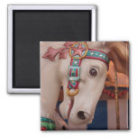 Sights and Sounds of Summer 2 Inch Square Magnet