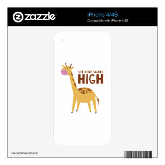 Sights High iPhone 4S Skin