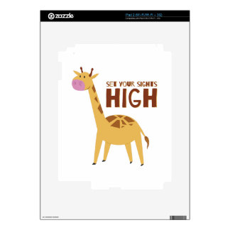 Sights High Decal For The iPad 2