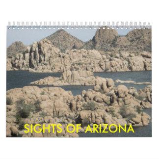 SIGHTS OF ARIZONA CALENDAR